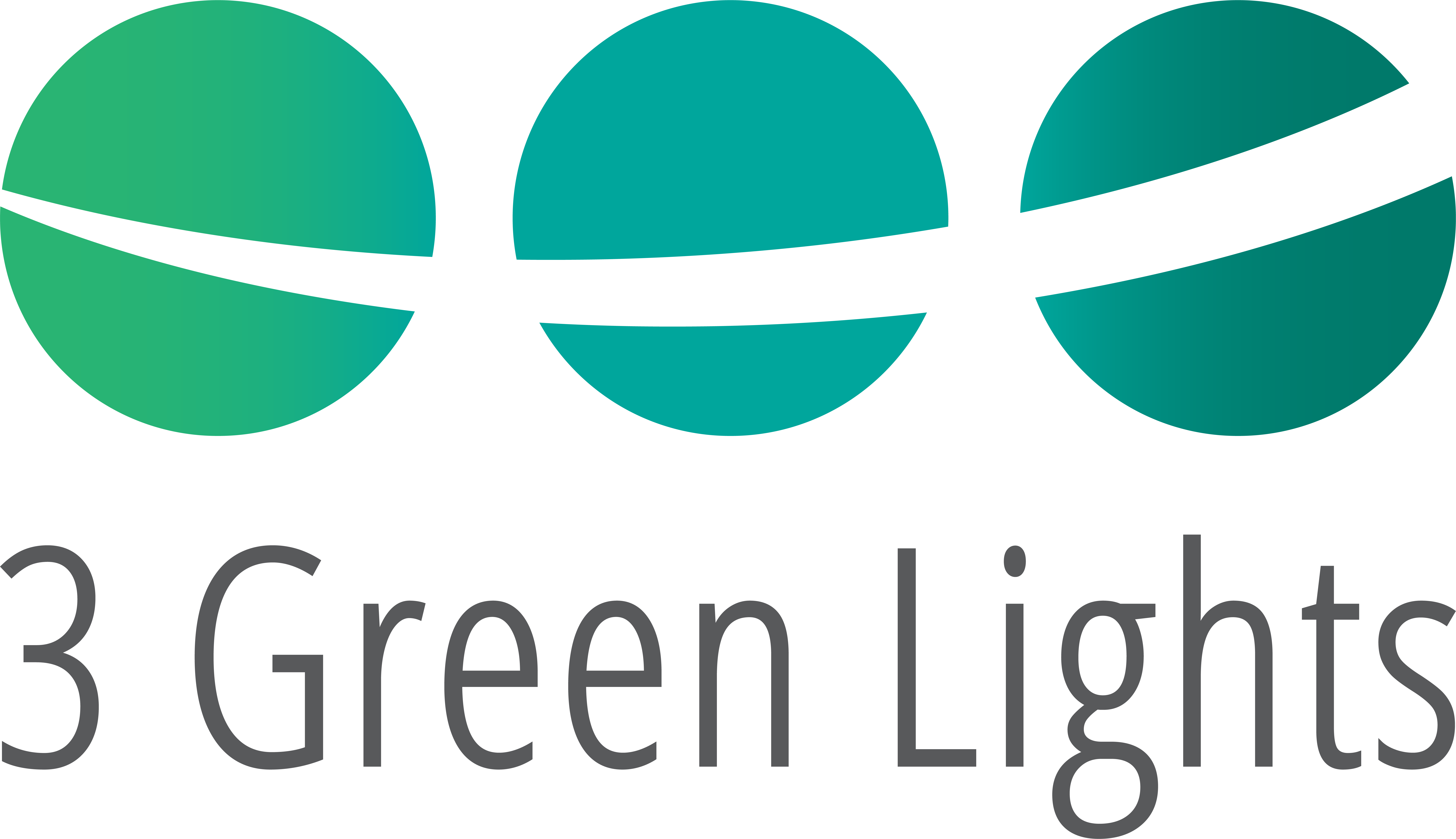 3 GREEN LIGHTS  logo