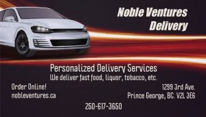 NOBLE VENTURES DELIVERY logo