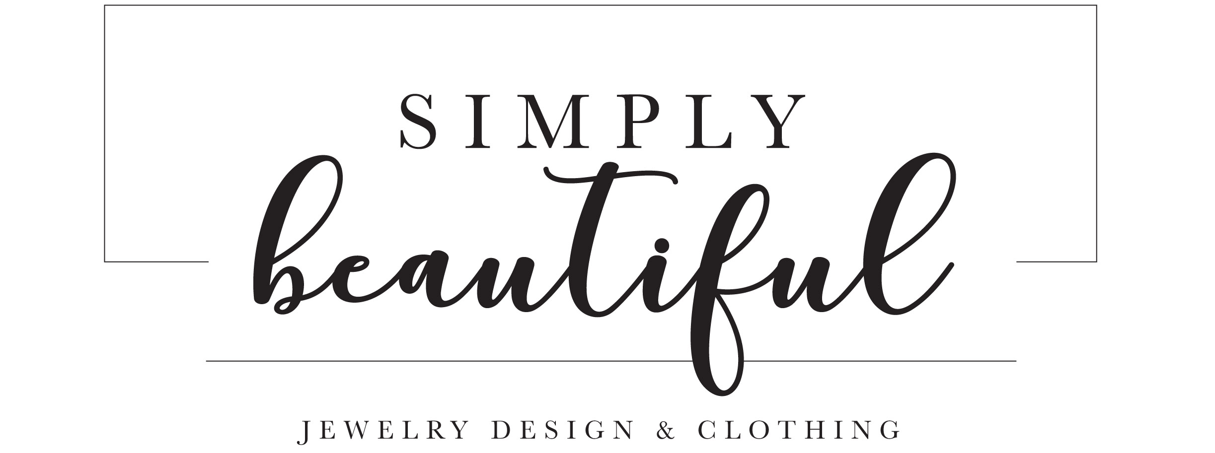 SIMPLY BEAUTIFUL JEWELRY DESIGN & CLOTHING logo