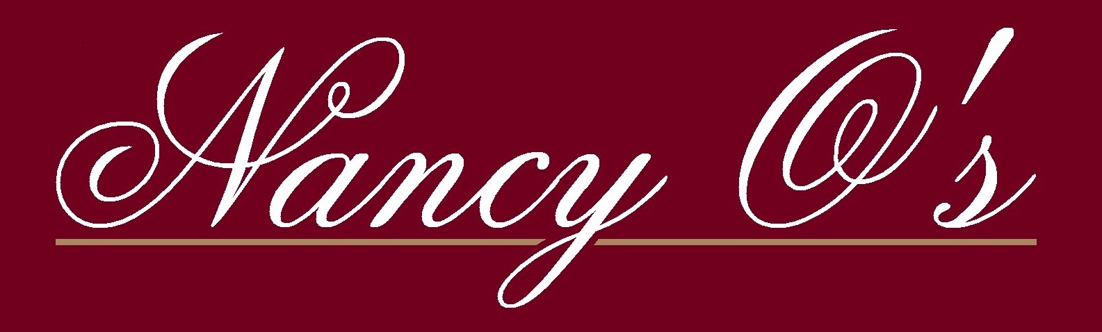 NANCY O'S logo