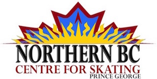 Northern BC Centre for Skating logo